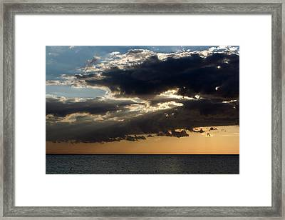 Bursting Through Framed Print by Laurie Search