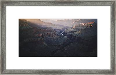 Bury Me At The Heart Of The River Framed Print