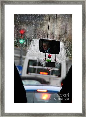 Bus Driver Framed Print