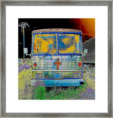 Bus To Chattanooga Framed Print by Julie Niemela