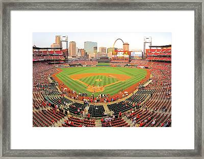 Busch Before The Game Framed Print