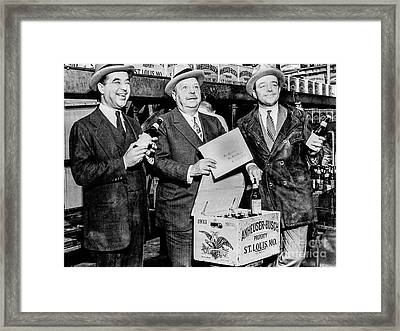 Busch Boys Framed Print by Jon Neidert