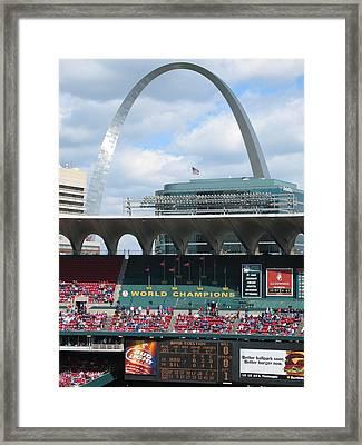 Busch Framed Print
