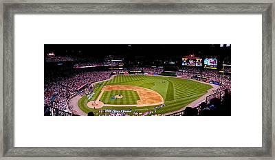 Busch Stadium Home Run Derby Framed Print by Dale Chapel