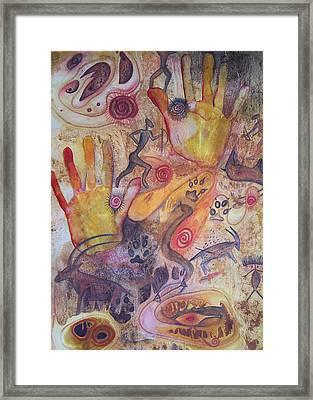 Bushman Comes Alive Framed Print