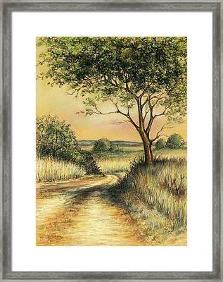 Bushveld Framed Print