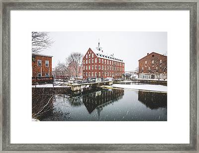 Framed Print featuring the photograph Busiel-seeburg Mill by Robert Clifford