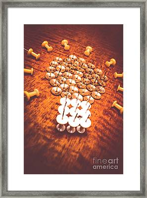 Busiiness Still Life Ideas Framed Print by Jorgo Photography - Wall Art Gallery