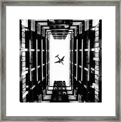 Business Centre  Framed Print