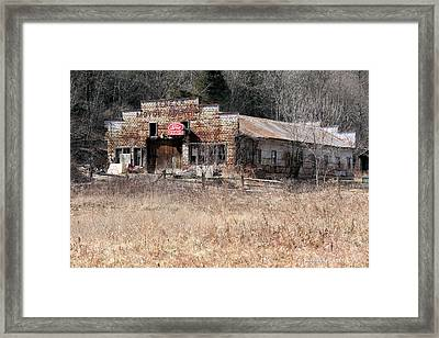 Business Of A By Gone Time Framed Print