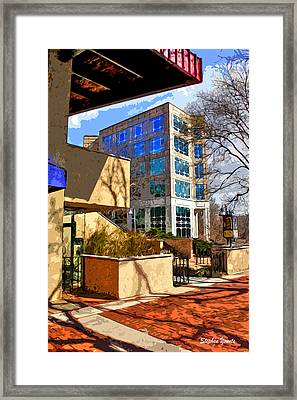 Business Point Of View Framed Print by Stephen Younts