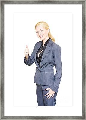 Business Success Framed Print by Jorgo Photography - Wall Art Gallery
