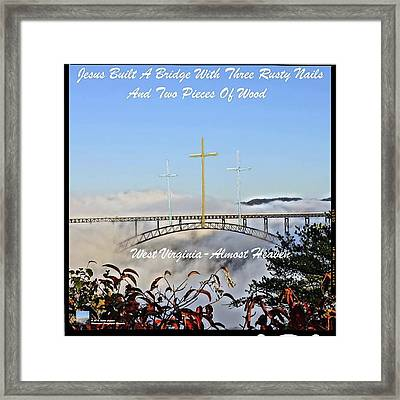 Mountaineer Photographic Memories Water And Trade Mark Framed Print