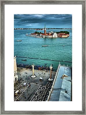 Bussy Venice Framed Print