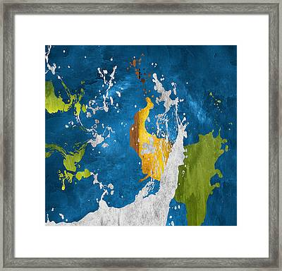 Bust Of Inspiration Framed Print by Art Spectrum