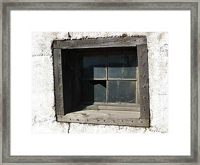 Busted Framed Print by Sheryl Burns