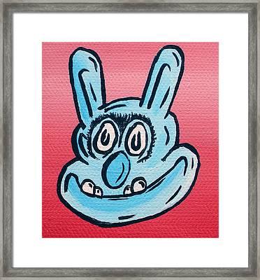 Buster Framed Print by Jera Sky