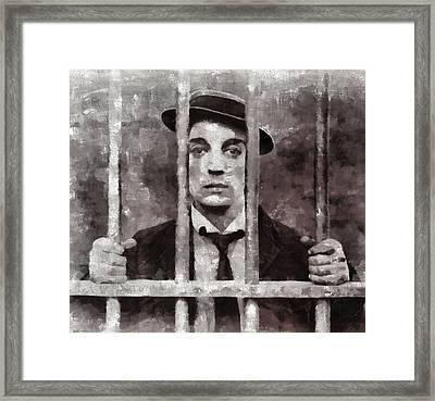 Buster Keaton, Actor Framed Print