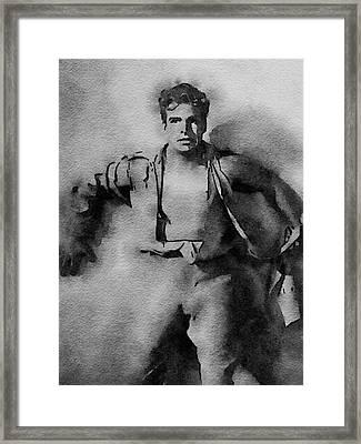 Buster Crabbe As Flash Gordon Framed Print