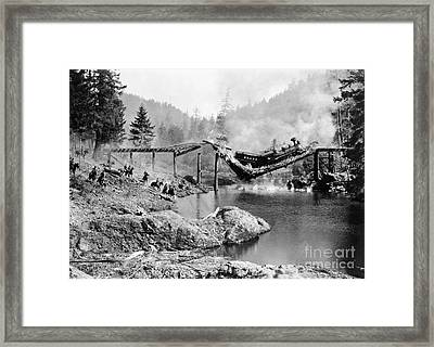 Buster Keaton: The General Framed Print by Granger