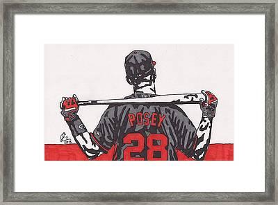 Buster Posey Framed Print