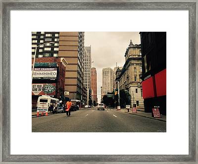Busy Framed Print by 2141 Photography