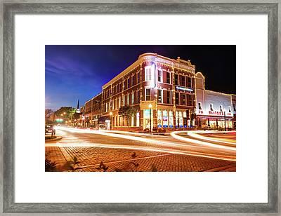 Busy Around Bentonville - Northwest Arkansas Framed Print