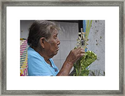 Busy Hands Framed Print by Jim Walls PhotoArtist