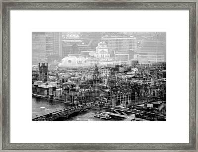 Busy London Framed Print