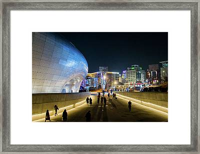 Busy Night Framed Print