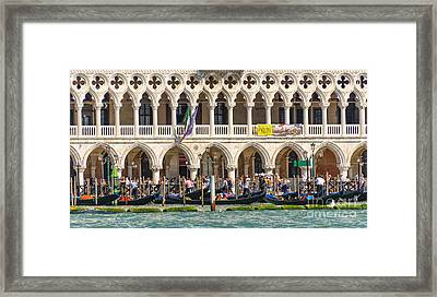 Busy Venice Framed Print by Svetlana Sewell