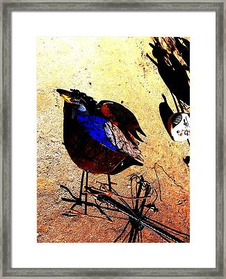 Framed Print featuring the photograph But It's A Dry Heat by Michelle Dallocchio