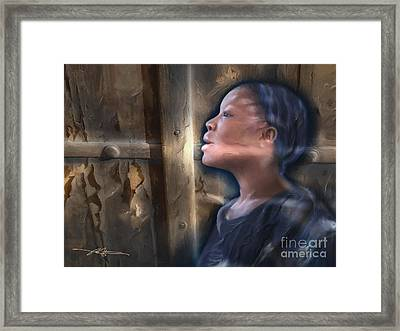But Now I See Framed Print by Bob Salo