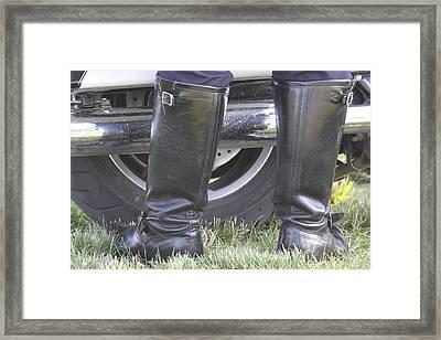 But Officer... Framed Print by Lauri Novak