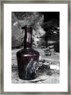 But Where's The Rum? Framed Print
