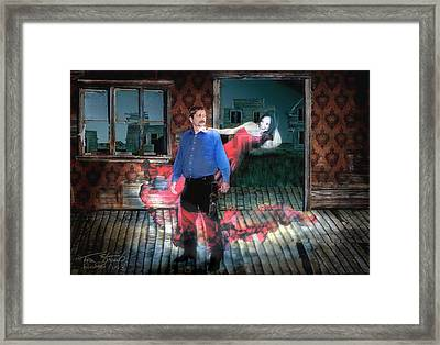 Butch And Nicole  Framed Print by Tom Straub