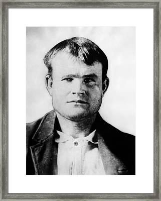 Butch Cassidy, Circa 1890 Framed Print by Everett
