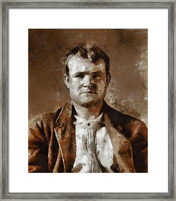 Butch Cassidy Framed Print by Mary Bassett