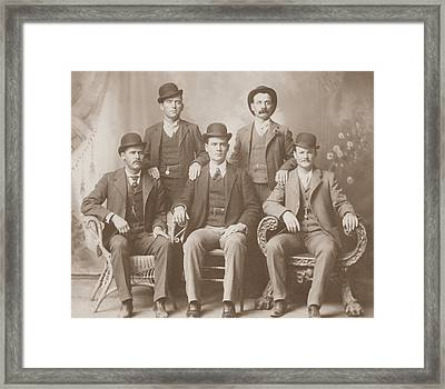 Butch Cassidy - Sundance Kid - Wild Bunch  Framed Print