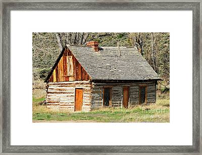 Butch Cassidy's Family Homestead Framed Print by Dennis Hammer