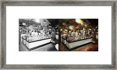 Butcher - Dd Collins Butcher 1915 Side By Side Framed Print