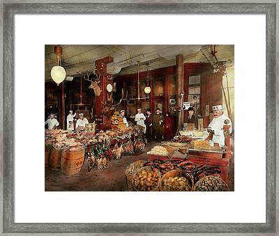 Butcher - The Game Center 1895 Framed Print