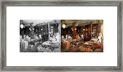 Butcher - The Game Center 1895 - Side By Side Framed Print