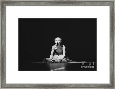 Butho Astonishment Framed Print by Philippe Taka