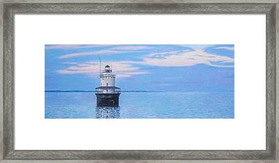 Butler Flats Light Framed Print by Robert Sewell