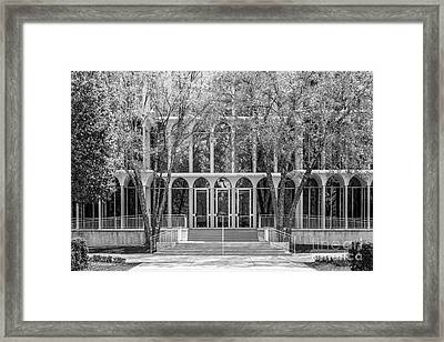 Butler University Irwin Library Framed Print