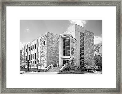 Butler University Pharmacy And Health Science Framed Print
