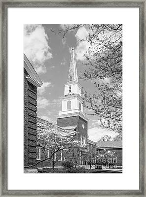 Butler University Robertson Hall Framed Print