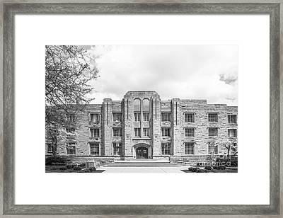 Butler University Schwitzer Residence Hall Framed Print by University Icons