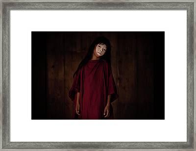 Butoh Framed Print